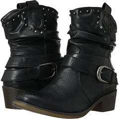 Bare Traps Quade (Black Leather) Footwear
