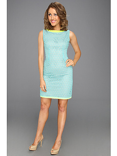 SALE! $191.99 - Save $156 on Elie Tahari Holly Dress (Sky) Apparel - 44.83% OFF $348.00