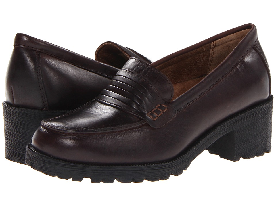 Eastland - Newbury (Brown Leather) Women's Shoes