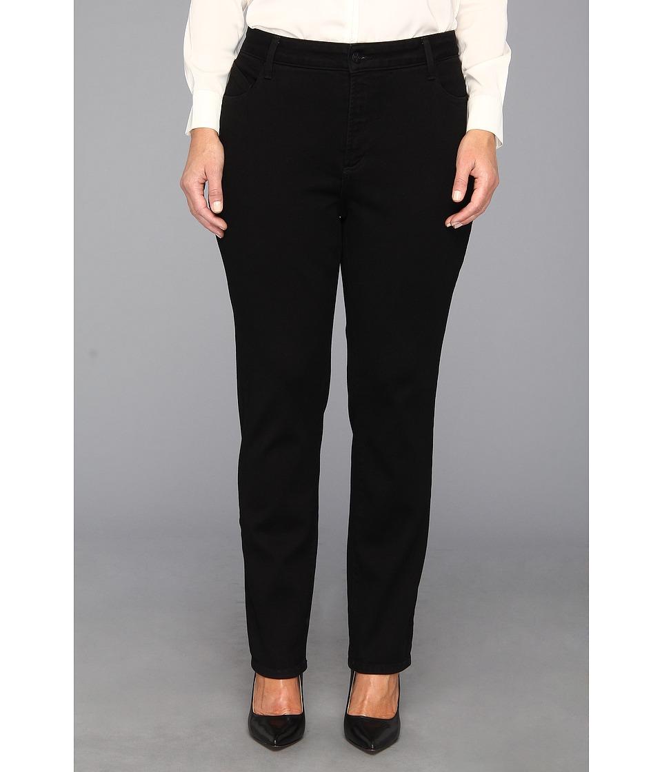 bf76381dae2 NYDJ Plus Size Plus Size Jade Legging in Black Womens Jeans (Black ...