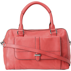 SALE! $174.99 - Save $143 on Lodis Accessories Hill Street Camille Satchel (Poppy) Bags and Luggage - 44.97% OFF $318.00