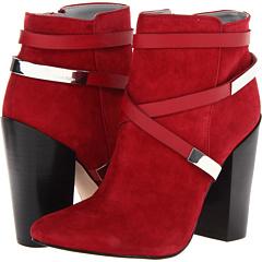 Calvin Klein Adriana K Suede Calf (Cranberry) Footwear