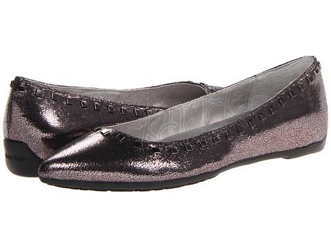 Calvin Klein Blossom Crackled (Gunmetal) Women's Pull-on Boots