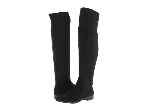 Calvin Klein Rae Stretch Micro (Black) Women's Pull-on Boots