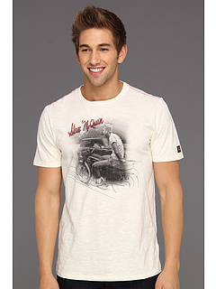 SALE! $14.99 - Save $27 on Troy Lee Designs McQueen Outdoors Tee (Off White) Apparel - 64.31% OFF $42.00
