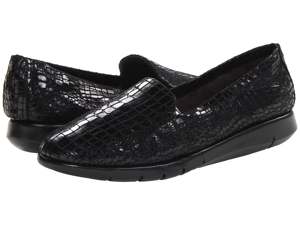 Aerosoles - Army (Black Snake) Women's Slip on Shoes
