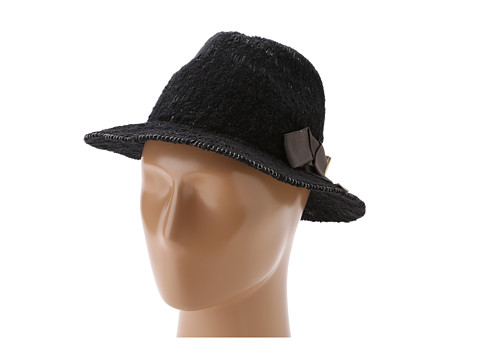 BCBGeneration - Pop Color Knit Panama (Gotham Black) Traditional Hats