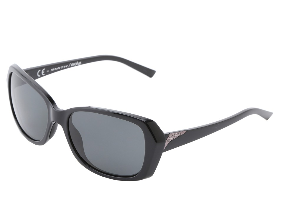 Smith Optics - Facet (Black Frame/Polarized Gray) Sport Sunglasses