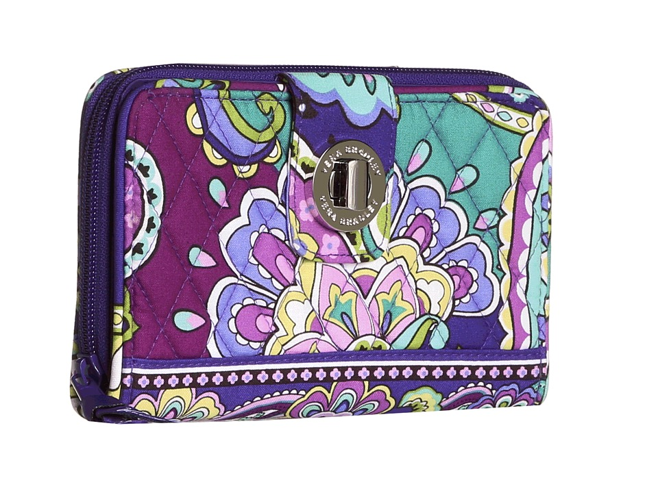 Vera Bradley - Turn Lock Wallet (Heather) Clutch Handbags