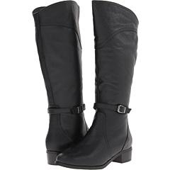 Gabriella Rocha Alexis Wide Calf (Black Tumble) Footwear