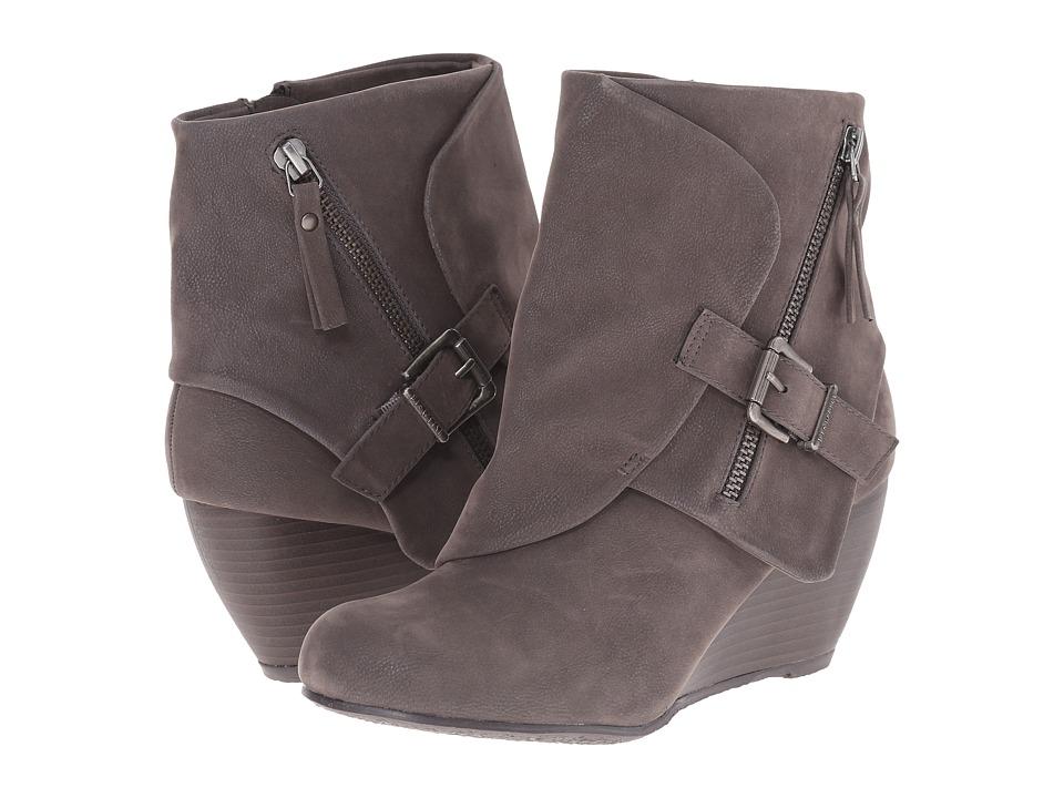 Blowfish - Bilocate (Grey Fawn PU) Women's Dress Zip Boots