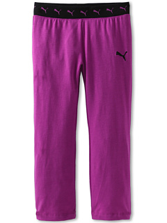 SALE! $10.5 - Save $20 on Puma Kids Contrast Elastic Waist Core Yoga Pant (Little Kids) (Purple Cactus) Apparel - 65.00% OFF $30.00