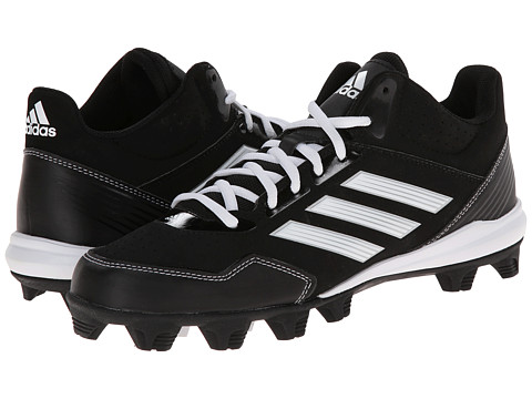 adidas - Wheelhouse MD Mid (Black/Metallic Silver/Running White) Men