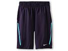 Nike Kids N.E.T. Short (Little Kids/Big Kids) (Dusty Grey/Loden)