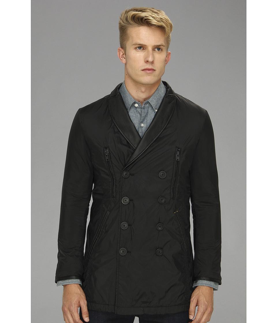 Diesel - Talek Overcoat (Black) Men's Coat