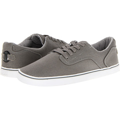 SALE! $14.99 - Save $35 on radii Footwear Noble Low (Charcoal White Canvas) Footwear - 70.02% OFF $50.00