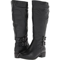 Lumiani International Collection Cyrene Extra Wide Calf (Black) Footwear