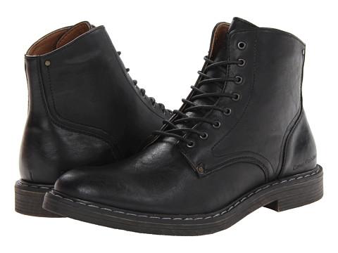 Calvin Klein Jeans Emanuel (Black) Men's Lace-up Boots