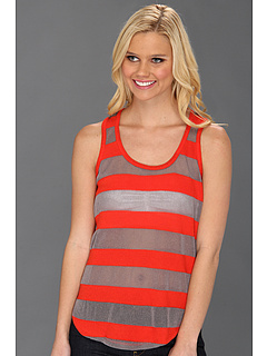 SALE! $16.99 - Save $51 on C C California Loose Knit Tropical Stripe (Solar Red) Apparel - 75.01% OFF $68.00
