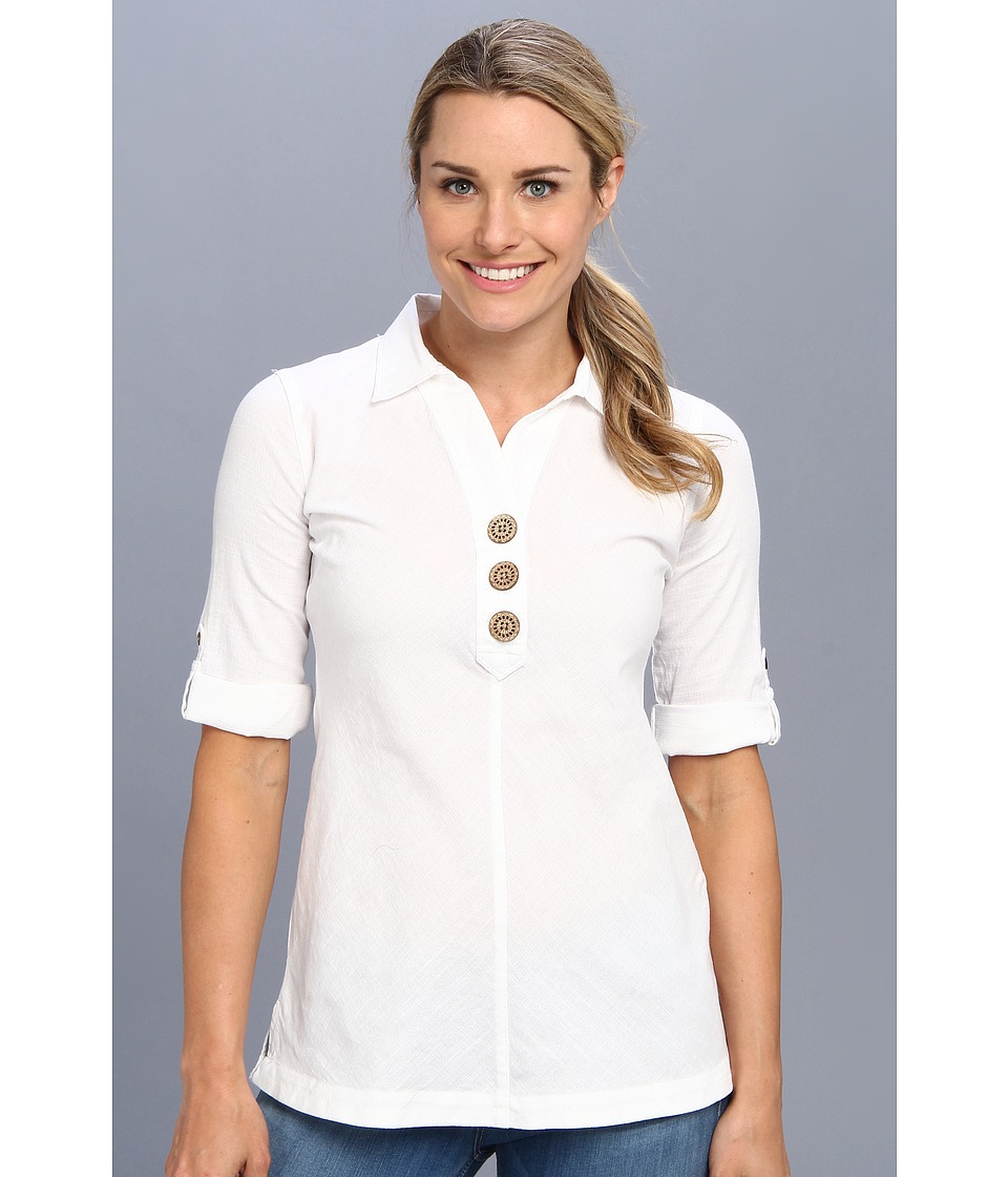 Royal Robbins - Cool Mesh Tunic (White) Women