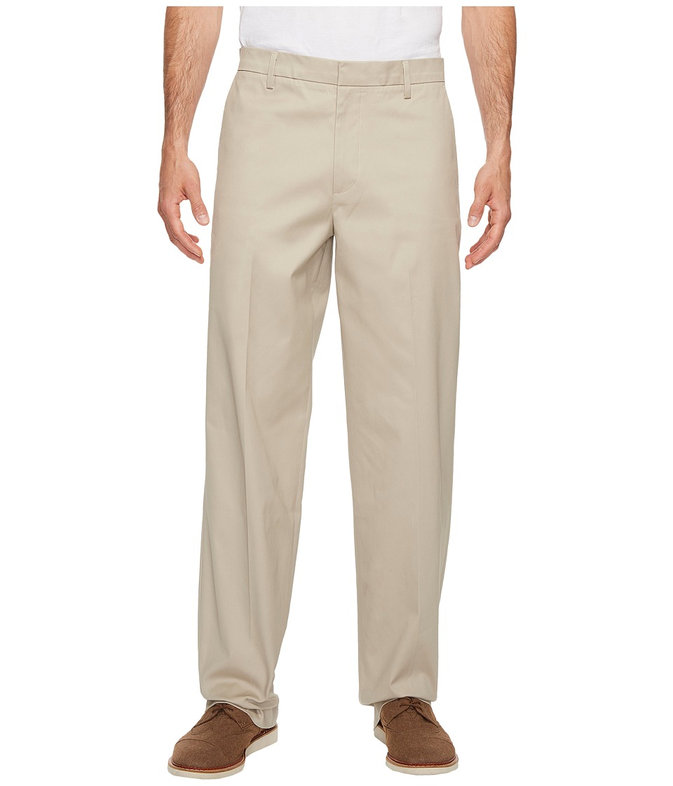 Dockers Men's - New Iron Free Khaki D3 Classic Fit Flat Front (Safari Beige) Men's Casual Pants