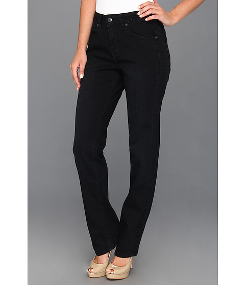 Jag Jeans - Andie Mid-Rise Straight in Black Sand (Black Sand) Women's Jeans
