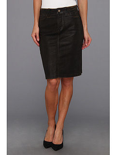 SALE! $64.99 - Save $75 on NYDJ Emma Skirt in Beat Leather Coating (Beat Leather Coating) Apparel - 53.58% OFF $140.00