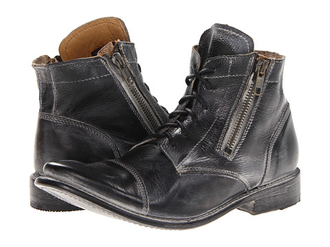 Bed Stu - Bonnie (Black Rustic) Women's Zip Boots