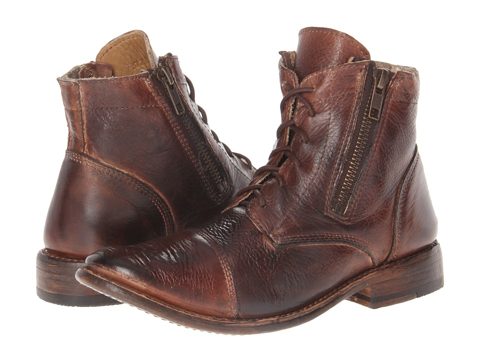 Bed Stu - Bonnie (Teak Rustic) Women's Zip Boots
