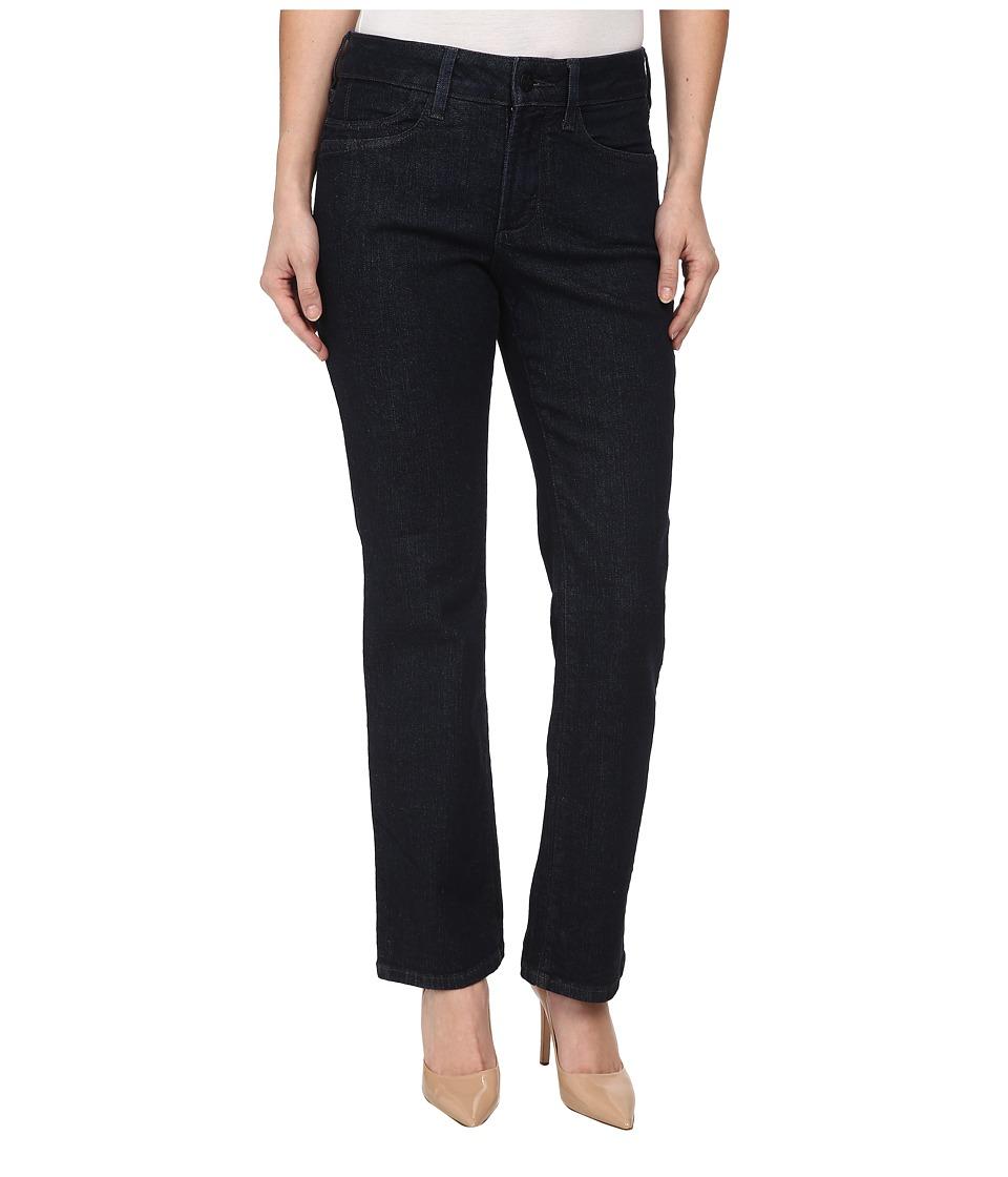 NYDJ Petite - Petite Marilyn Straight Leg in Dark Enzyme (Dark Enzyme) Women's Jeans