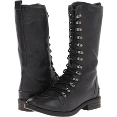 Bed Stu Medallion (Black Saddle) Footwear