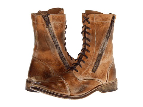 Bed Stu - Sabre (Tan Rustic White) Women's Zip Boots