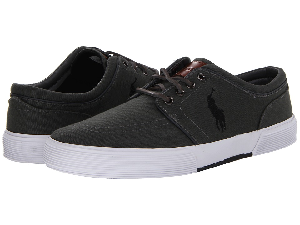 Polo Ralph Lauren - Faxon Low (Deep Grey/Polo Black) Men's Lace up casual Shoes
