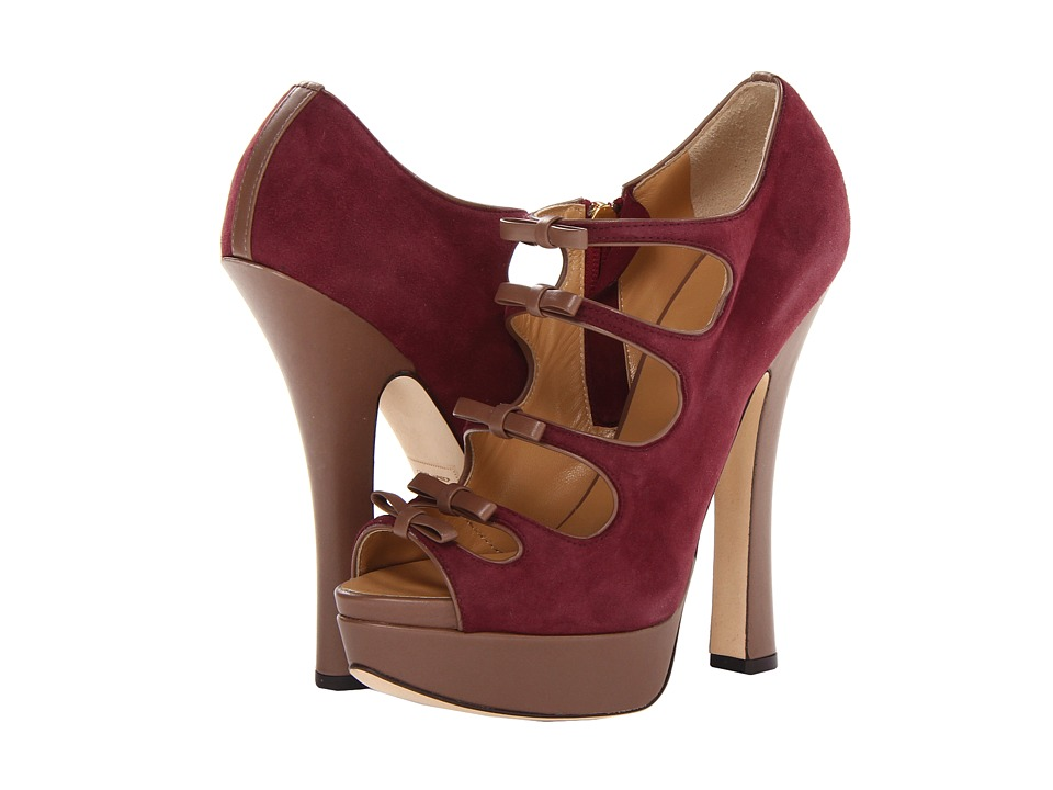 DSQUARED2 - Grace (Camoscio Bordeaux) High Heels