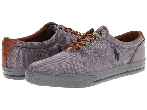 Polo Ralph Lauren - Vaughn (Charcoal Grey/Newport Navy) Men's Lace up casual Shoes