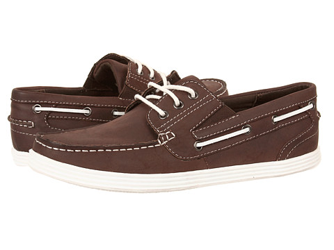 Kenneth Cole Unlisted - Boat-ing License (Brown) Men's Lace up casual Shoes
