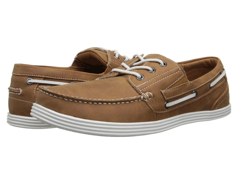 Kenneth Cole Unlisted - Boat-ing License (Tan) Men's Lace up casual Shoes