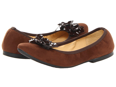 Kid Express - Jessica (Toddler/Little Kid/Big Kid) (Dark Brown Combo) Girl's Shoes