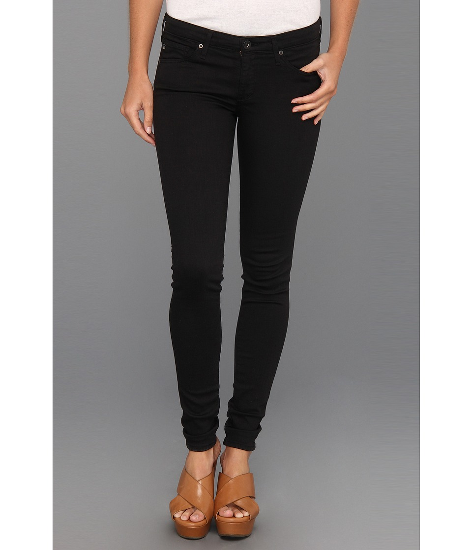 AG Adriano Goldschmied - The Absolute Legging in Super Black (Super Black) Women's Jeans
