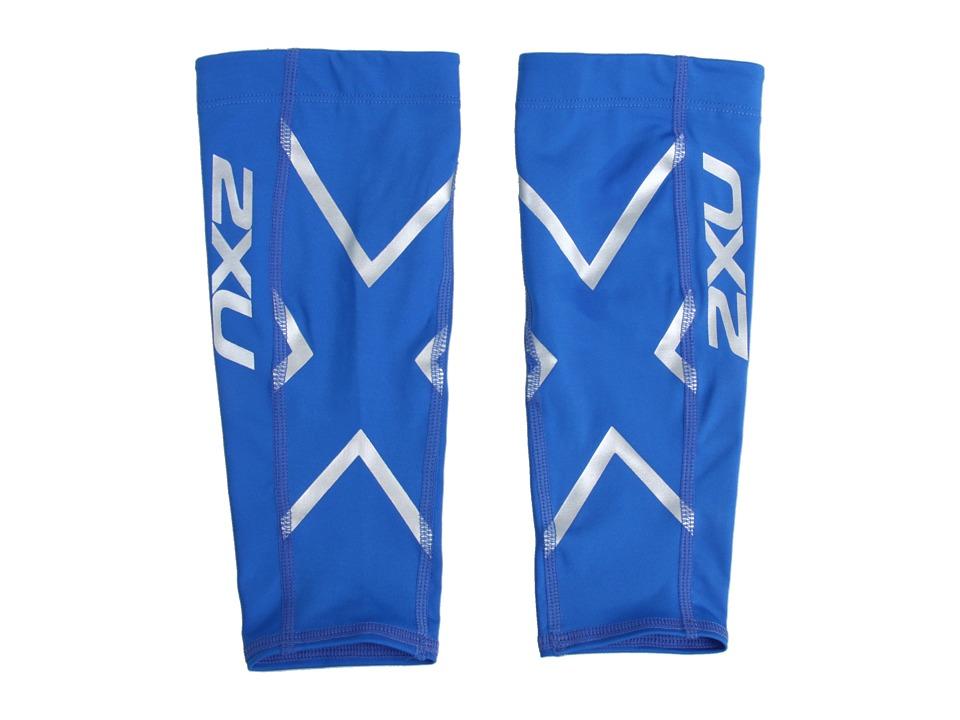 2XU - Non-Stirrup Calf Guard (Royal Blue/Royal Blue) Athletic Sports Equipment