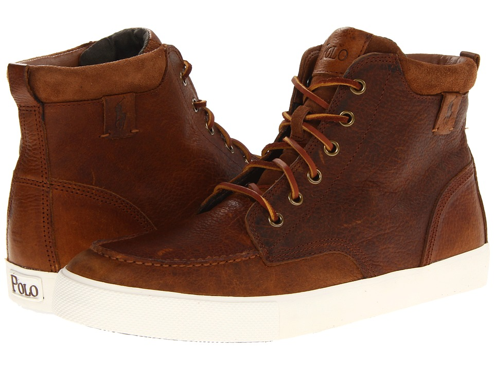 Polo Ralph Lauren - Tedd (Tan/Snuff) Men's Lace up casual Shoes