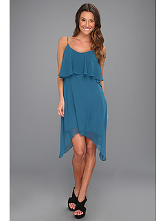 SALE! $36.99 - Save $51 on BCBGeneration Solid Layered Tank Dress (Blue Jade) Apparel - 57.97% OFF $88.00