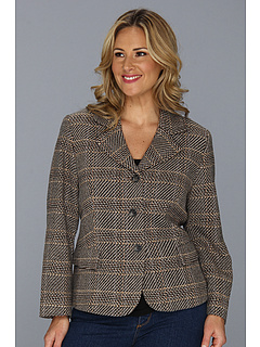 SALE! $81.99 - Save $186 on Pendleton Plus Size Country Jacket (Charcoal Exploded Plaid) Apparel - 69.41% OFF $268.00