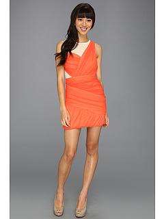 SALE! $59.99 - Save $88 on BCBGeneration Crisscross Dress (Flamingo) Apparel - 59.47% OFF $148.00