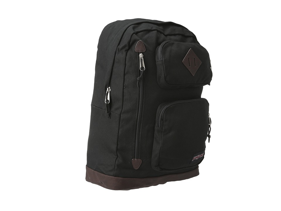 JanSport - Houston (Black) Backpack Bags