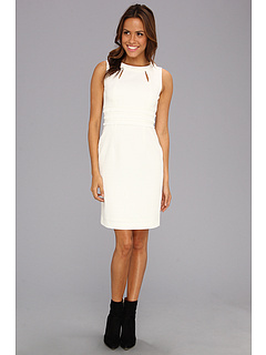 SALE! $44.99 - Save $103 on Tahari by ASL Carlee Jacquard Sheath Dress (Ivory) Apparel - 69.60% OFF $148.00