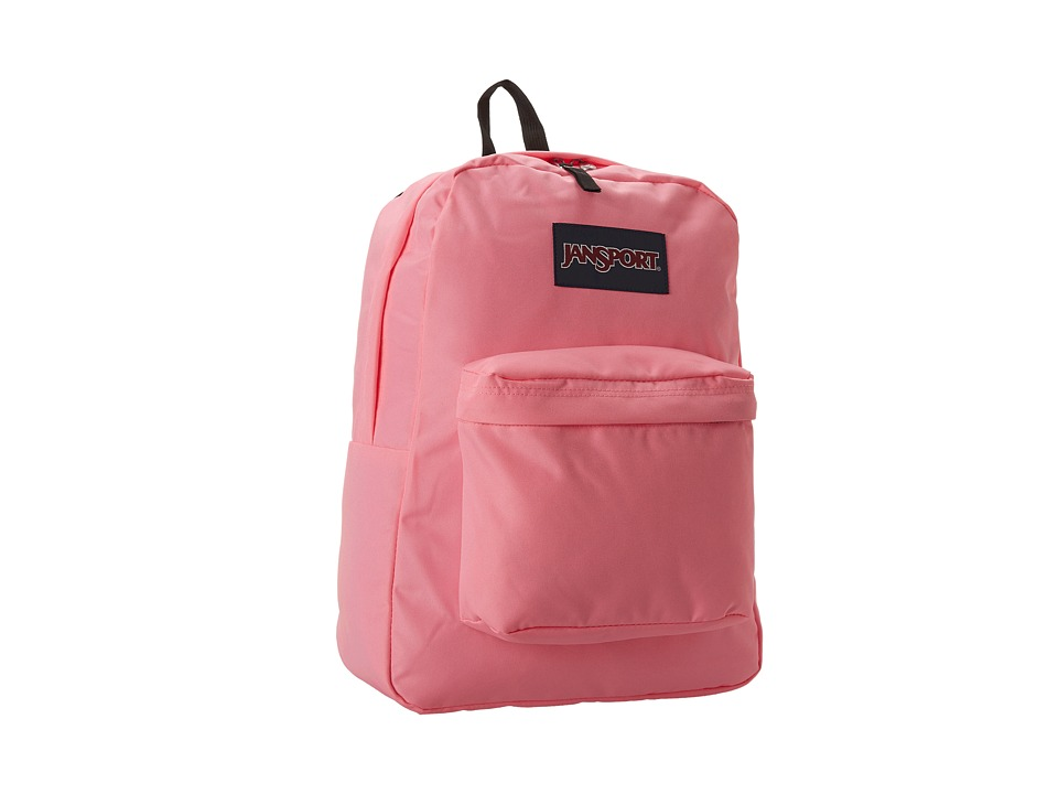 JanSport - SuperBreak (Pink Pansy) Backpack Bags