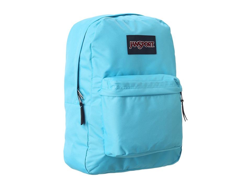 JanSport - Superbreak (Mammoth Blue) Backpack Bags
