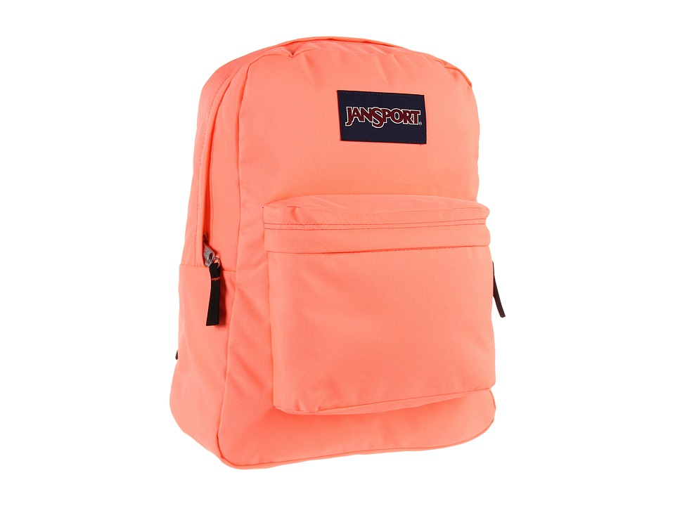 JanSport - SuperBreak (Coral Peaches) Backpack Bags