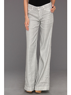 SALE! $127.4 - Save $69 on Hudson Gwen Mid Rise Wide Leg Linen Pant (Grey Linen) Apparel - 35.00% OFF $196.00